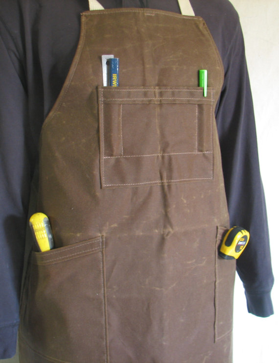 woodworking-apron